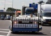 屌丝中的极品!一览全球怪异交通工具