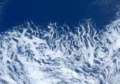 空间站宇航员分享地球靓照