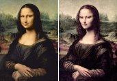 艺术家为名画瘦身惹争议