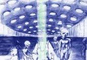 女孩遭外星人性侵后 产下蓝皮肤怪胎
