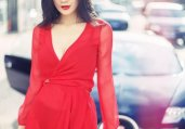 《变4》赵茜时尚写真 性感优雅女神范