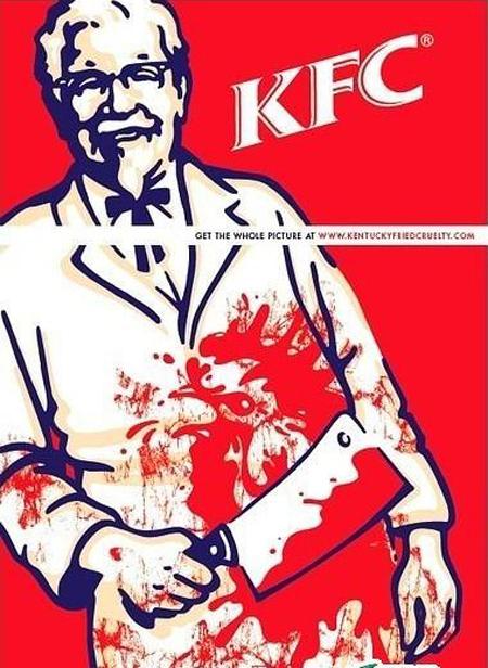 怪不得KFC商标只有上半部分,原来这才是真相!