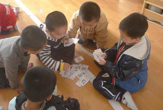 打牌要从小培养。