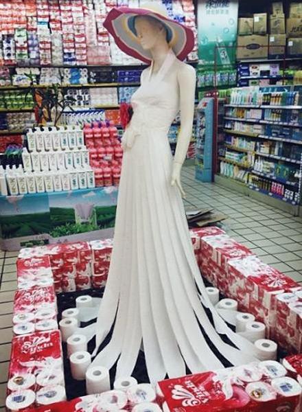 超市大妈,中国最逆天的设计师