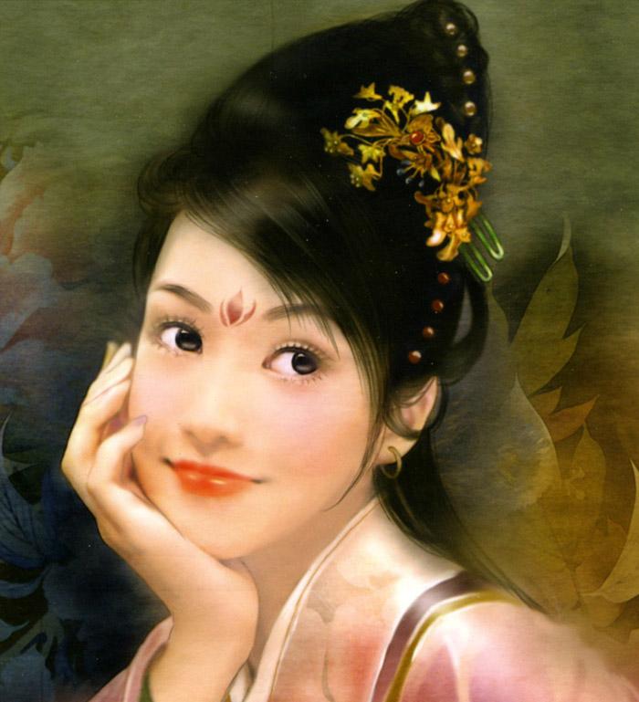 古典美女 很赞