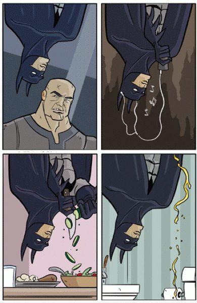 蝙蝠侠的生活