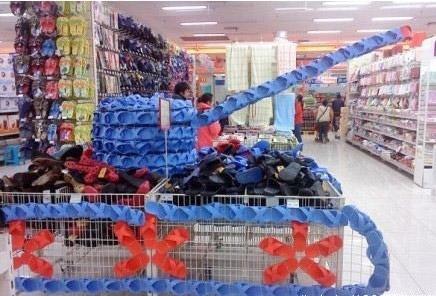 超市促销员都是艺术节的奇葩。